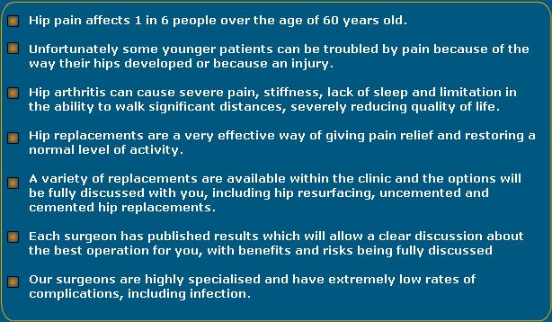 Hip Arthritis, Midlands Hip & Knee Centre - midland hip and knee clinic